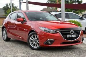 2016 Mazda 3 BM MY15 Maxx Red 6 Speed Manual Hatchback