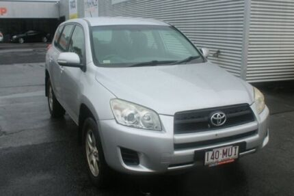 2009 Toyota RAV4 ACA33R MY09 CV Silver 4 Speed Automatic Wagon Portsmith Cairns City Preview
