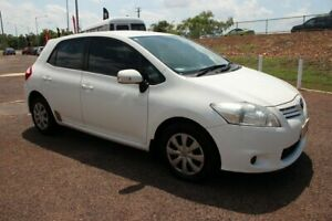 2011 Toyota Corolla ZRE152R MY11 Ascent Glacier White 4 Speed Automatic Hatchback The Gardens Darwin City Preview