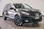 2013 Nissan Dualis J107 Series 4 MY13 +2 Hatch X-tronic 2WD Ti-L Black 6 Speed Constant Variable Myaree Melville Area Preview