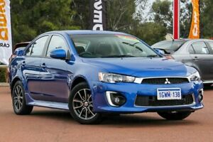 2016 Mitsubishi Lancer CF MY16 ES Sport Lightning Blue 6 Speed Constant Variable Sedan