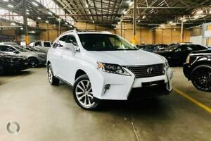 2012 Lexus RX GYL15R MY12 RX450h Sports Luxury White 6 Speed Constant Variable Wagon Hybrid Port Melbourne Port Phillip Preview