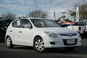 2009 Hyundai i30 FD MY09 SX White 4 Speed Automatic Hatchback Hoppers Crossing Wyndham Area Preview