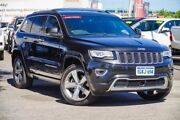 2013 Jeep Grand Cherokee WK MY14 Overland (4x4) Black 8 Speed Automatic Wagon Glendalough Stirling Area Preview