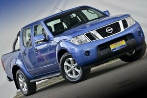 2013 Nissan Navara D40 S6 MY12 ST 4x2 Blue 5 Speed Sports Automatic Utility Ferntree Gully Knox Area Preview