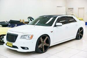 2013 Chrysler 300 MY12 SRT8 White 5 Speed Automatic Sedan Carss Park Kogarah Area Preview