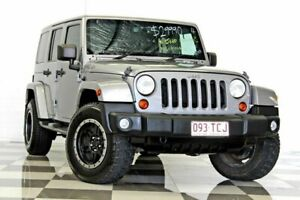 2013 Jeep Wrangler JK MY13 Overland (4x4) Silver 5 Speed Automatic Hardtop Burleigh Heads Gold Coast South Preview