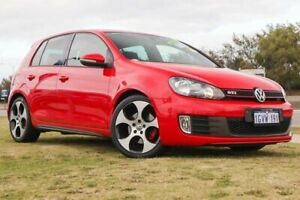 2013 Volkswagen Golf VII MY14 GTI DSG Red 6 Speed Sports Automatic Dual Clutch Hatchback Clarkson Wanneroo Area Preview