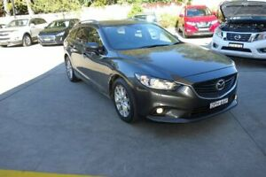 2017 Mazda 6 GL1031 Sport SKYACTIV-Drive Grey 6 Speed Sports Automatic Wagon East Maitland Maitland Area Preview