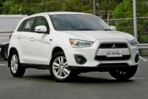 2013 Mitsubishi ASX XB MY13 2WD White 6 Speed Constant Variable Wagon
