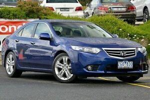 2012 Honda Accord Euro CU MY13 Luxury Blue 5 Speed Automatic Sedan Narre Warren Casey Area Preview