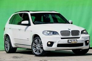 2013 BMW X5 E70 MY1112 xDrive40d Steptronic Sport White 8 Speed Sports Automatic Wagon Ringwood East Maroondah Area Preview