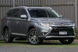 2015 Mitsubishi Outlander ZK MY16 Exceed 4WD Titanium Grey 6 Speed Sports Automatic Wagon Wantirna South Knox Area Preview