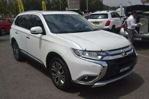 2016 Mitsubishi Outlander ZK MY16 Exceed 4WD White 6 Speed Sports Automatic Wagon Maitland Maitland Area Preview