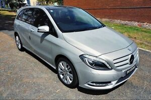 2013 Mercedes-Benz B180 W246 DCT Silver 7 Speed Sports Automatic Dual Clutch Hatchback Haymarket Inner Sydney Preview