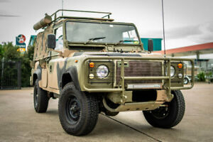 1990 Land Rover 3.9 (4x4) Camouflage 5 Speed Manual 4x4 Cab Chassis Rutherford Maitland Area Preview