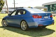 2015 BMW 328i F30 MY1114 M Sport Estoril Blue 8 Speed Sports Automatic Sedan Burswood Victoria Park Area Preview