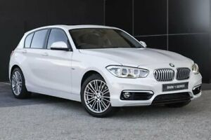 2018 BMW 120i F20 LCI-2 Urban Line Steptronic Mineral White 8 Speed Sports Automatic Hatchback Wangara Wanneroo Area Preview