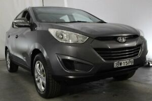 2012 Hyundai ix35 LM MY12 Active Grey 5 Speed Manual Wagon Maryville Newcastle Area Preview