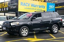 2007 Toyota Kluger GSU45R KX-R (4x4) 5 Seat Black 5 Speed Automatic Wagon Ringwood East Maroondah Area Preview