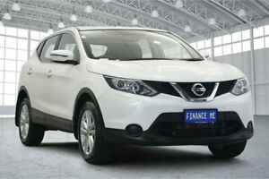 2016 Nissan Qashqai J11 ST White 1 Speed Constant Variable Wagon Victoria Park Victoria Park Area Preview
