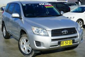 2012 Toyota RAV4 ACA38R MY12 CV 4x2 Silver 4 Speed Automatic Wagon Pearce Woden Valley Preview