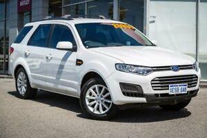 2014 Ford Territory SZ MkII TS Seq Sport Shift AWD White 6 Speed Sports Automatic Wagon