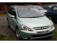 Peugeot 307 2.0 HDI (7 seater)