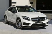 2016 Mercedes-Benz GLA 45 AMG 4MATIC X156 807MY AMG SPEEDSHIFT DCT 4MATIC White 7 Speed Robina Gold Coast South Preview