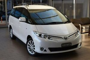 2014 Toyota Tarago ACR50R MY13 GLX White 7 Speed CVT Auto Sequential Wagon Belconnen Belconnen Area Preview
