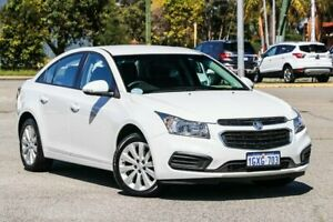 2016 Holden Cruze JH Series II MY16 Equipe White 6 Speed Sports Automatic Hatchback Maddington Gosnells Area Preview