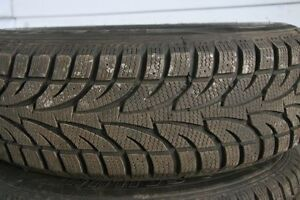 Ice Blazer Winter Tires 215/70R15 - set of 4 on Steel Rims Gatineau Ottawa / Gatineau Area image 2
