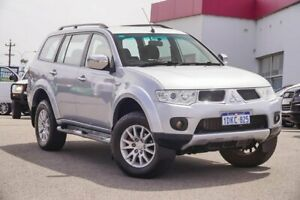 2010 Mitsubishi Challenger PB (KH) MY10 LS Silver 5 Speed Sports Automatic Wagon Myaree Melville Area Preview