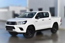 2015 Toyota Hilux GUN126R SR Double Cab Glacier White 6 Speed Sports Automatic Utility Pakenham Cardinia Area Preview