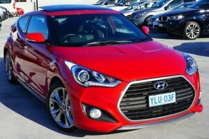 2016 Hyundai Veloster FS5 Series II SR Coupe D-CT Turbo Red 7 Speed Sports Automatic Dual Clutch Pearce Woden Valley Preview