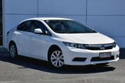 2013 Honda Civic 9th Gen Ser II VTi White 5 Speed Sports Automatic Sedan Tweed Heads South Tweed Heads Area Preview