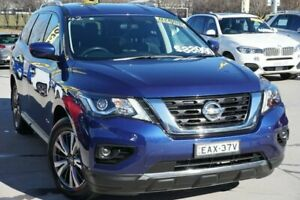 2017 Nissan Pathfinder R52 Series II MY17 ST X-tronic 2WD Blue 1 Speed Constant Variable Wagon Pearce Woden Valley Preview