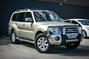 2011 Mitsubishi Pajero NT MY11 GLS Gold 5 Speed Sports Automatic Wagon Midvale Mundaring Area Preview