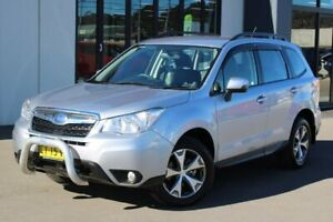 2014 Subaru Forester S4 MY14 2.5i Lineartronic AWD Luxury Silver 6 Speed Constant Variable Wagon Goulburn Goulburn City Preview