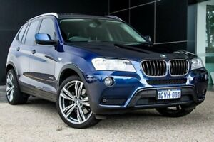 2014 BMW X3 F25 LCI MY0414 xDrive20i Steptronic Deep Sea Blue 8 Speed Automatic Wagon Wangara Wanneroo Area Preview