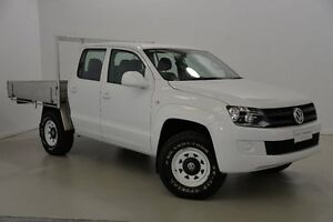 2012 Volkswagen Amarok 2H MY12 TSI300 White 6 Speed Manual Cab Chassis Mansfield Brisbane South East Preview