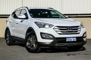 2013 Hyundai Santa Fe DM Active CRDi (4x4) White 6 Speed Automatic Wagon Cannington Canning Area Preview