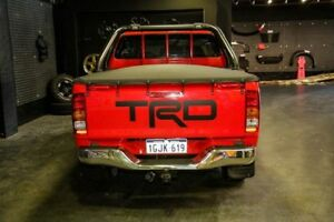 2008 TRD Hilux GGN25R 4000SL Red 5 Speed Automatic Utility