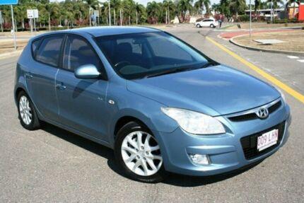 2007 Hyundai i30 FD SLX Blue 5 Speed Manual Hatchback