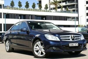 2011 Mercedes-Benz C-Class C204 C250 BlueEFFICIENCY Coupe 2dr 7G-TRONIC + 7sp 1.8T [May Blue Liverpool Liverpool Area Preview