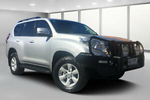 2015 Toyota Landcruiser Prado KDJ150R MY14 GXL (4x4) Silver Pearl 5 Speed Sequential Auto Wagon Dalby Dalby Area Preview