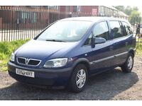 Vauxhall Zafira 1.6 (7 Seater)