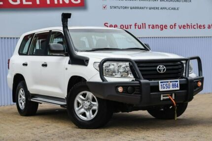 2015 Toyota Landcruiser VDJ200R MY13 GX White 6 Speed Sports Automatic Wagon Morley Bayswater Area Preview