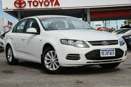 2013 Ford Falcon FG MK2 XT (LPi) Winter White 6 Speed Automatic Sedan Osborne Park Stirling Area Preview