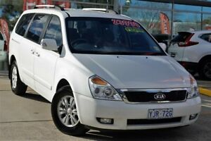 2014 Kia Grand Carnival VQ MY14 SI White 6 Speed Sports Automatic Wagon Belconnen Belconnen Area Preview